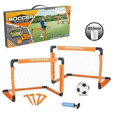 Детские складные футбольные ворота Soccer Training Set 2 шт.