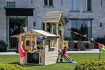 Дитяча ігрова вежа з будиночком Blue Rabbit LOOKOUT + SWING, фото 2
