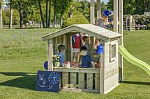 Дитяча ігрова вежа з будиночком Blue Rabbit LOOKOUT + SWING, фото 3