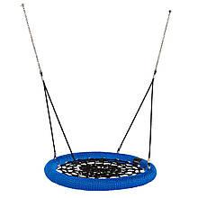 Гойдалки Гніздо KBT Rosette 100 см для громадського користування Сине-черный