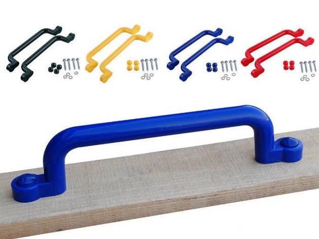Ручки для детских площадок 330 мм. 2 штуки Красный, фото 2