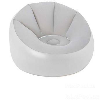 Надувное кресло Bestway 75086, 102 х 97 х 71 см, с LED подсведкой, белое