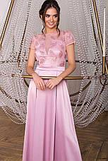Жіноче довге ошатне випускну сукню розміри:S-XL, фото 2