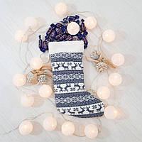Сапог новогодний подарочный Zolushka олени 37см (ZL2913) 1369520943