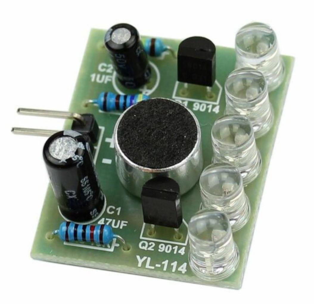 Модуль голосового управления светодиодами. Набор для самостоятельной сборки DIY kit
