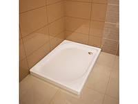 Квадратні душові піддони з литого мрамору