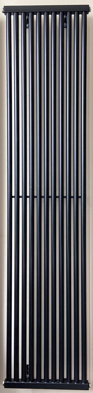 Вертикальный трубчатый радиатор PS Style H-1800 мм, L-405 мм Betatherm (белый/черный)