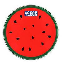 Весы напольные 2003A фрукты, 180кг (50гр),  температура