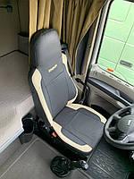 Чехлы на сидения грузового автомобиля DAF XF 105 с еко-кожи