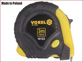 Рулетка строительная 3 м x 16 мм Vorel 10123