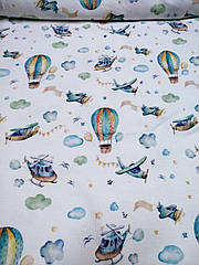 Кашкорсе з малюнком Літак 95см.