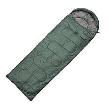 Мешок спальный-одеяло Totem Fisherman XXL TTS-013 R (2200х900мм), оливковый