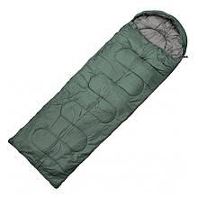 Мешок спальный-одеяло Totem Fisherman XXL TTS-013 L (2200х900мм), оливковый