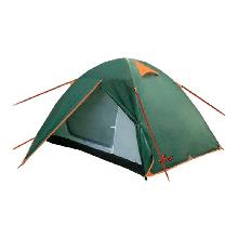 Двомісна Палатка туристична Totem Trek TTT-020 (2100х1700х1100мм), зелена