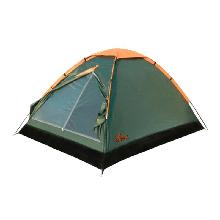 Двомісна Палатка туристична Totem Summer TTT-019 (2050х1400х1200мм), зелена