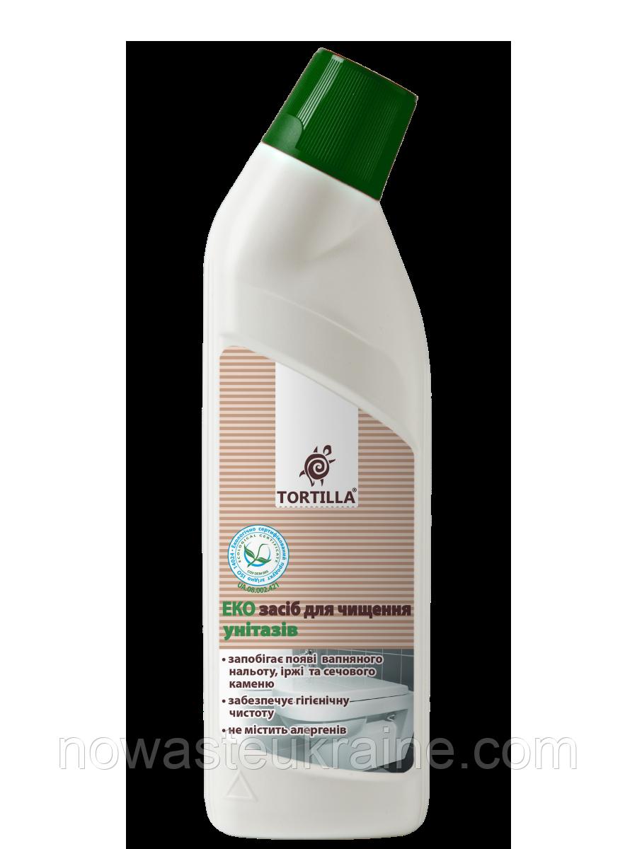 Эко-средство для чистки унитазов Tortilla 0.5 л