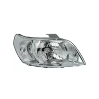 Фара Chevrolet Aveo T250 (06-12), ZAZ Vida (12-) левая, механическая (Depo) 96650527