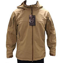 Куртка тактическая Esdy Softshell Travel (р.M), койот