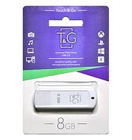 USB флешка Flash Drive 8Gb T&G Classic White TG011-8GBWH original Біла