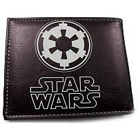Кошелек Звездные Войны Star Wars с эмблемой Империи, черный