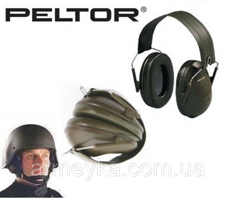 Пассивные стрелковые наушники Peltor H61FA.