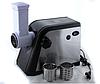 Электрическая мясорубка с насадками для шинковки 7в1. Електрична мясорубка з соковижималкою., фото 3