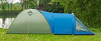 Туристическая палатка Acamper Soliter Pro 4, зеленая, 4-х местная, фото 3