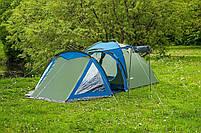 Туристичний Намет 4-х місцева Acamper Soliter 4 Польща!, фото 4