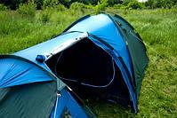 Туристическая палатка Acamper Soliter Pro 4, зеленая, 4-х местная, фото 5
