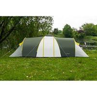 Туристическая палатка 6-ти местная Nadir Pro 6, зеленый, клеенные швы, фото 2
