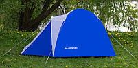 Палатка Acamper Acco 4 Pro, 3500 мм, синяя, фото 2