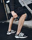 Шорти карго чорні чоловічі рефлективным шнуром Мейсон (Mason) від бренду ТУР розмір S, M, L, XL,XXL L, фото 6