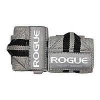 Кистевые бинты Rogue Wrist Wraps Gray/Black (стандартная жесткость)