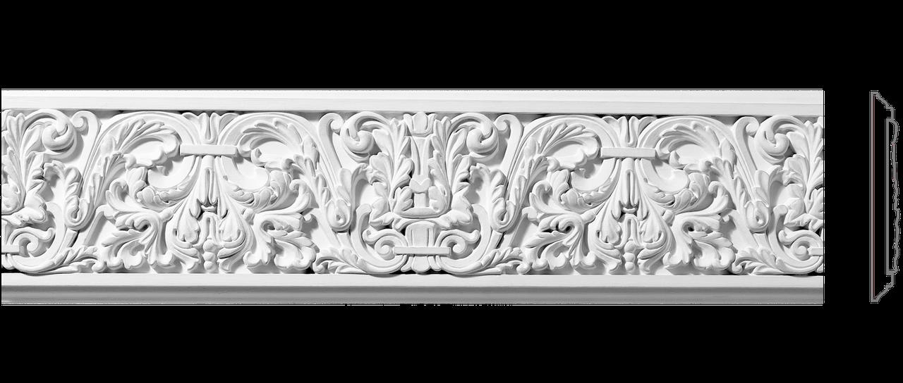 Декоративний фриз з гіпсу, гіпсовий фриз з орнаментом Ф-40 h134 мм