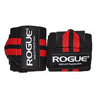 Кистевые бинты Rogue Wrist Wraps Black-Red (стандартная жесткость)