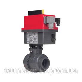 Кран кульовий EFFAST d63 мм (BDREBKY1A0630) з електроприводом PTFE/EPDM
