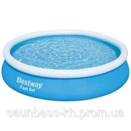 Надувний круглий басейн Bestway 57274 (366х76)