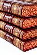 Україна Європа. Хронологія розвитку в 5 томах (4 книги). Подарункове видання в шкіряній палітурці, фото 5
