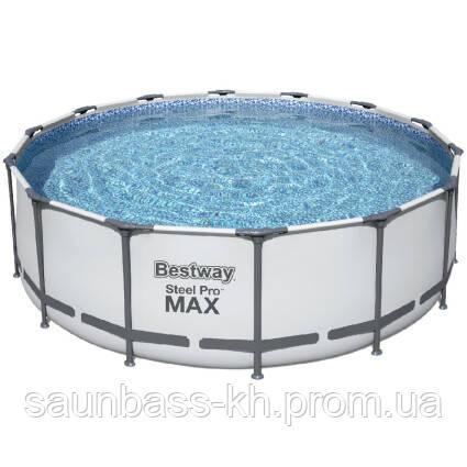 Каркасний басейн 5612Z (488х122) з картриджних фільтрів