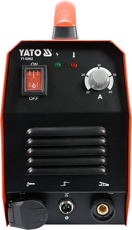 Апарат плазмового різання YATO YT-82952, фото 2