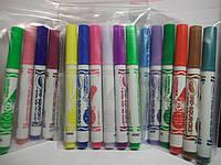 Бюджетный вариант.6 шт смываемые разноцветные маркеры/фломастеры Washable markers CRAYOLA.