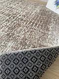 """Безкоштовна доставка!Турецький килим у спальню """"Беж"""" 100х160см., фото 6"""