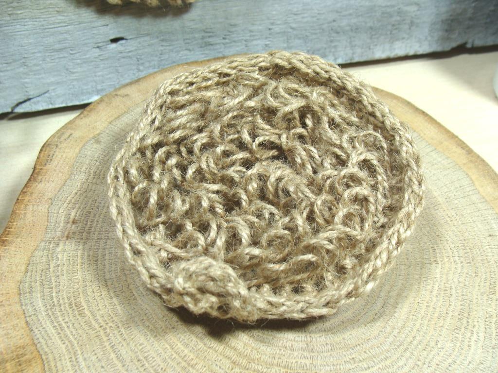 Мочалка - пилинг натуральная из джута