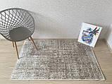 """Безкоштовна доставка!Турецький килим у спальню """"Беж"""" 140х190см., фото 2"""