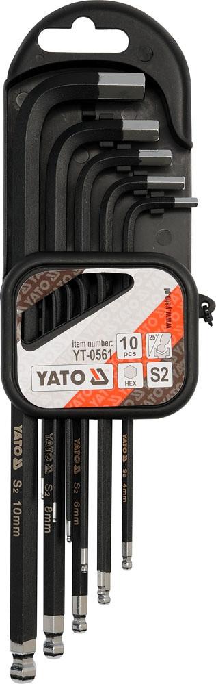 Набор ключей шестигранников YATO YT-0561