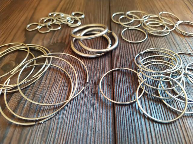 Кольца металические 2 мм