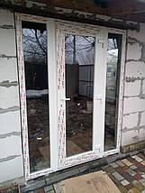 Вхідні пластикові двері 1300*2050, фото 2