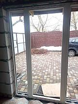 Вхідні пластикові двері 1300*2050, фото 3