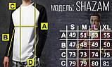 """Лонгслив """"Shazam"""" від бренду """"ТУР"""", фото 4"""