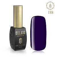 Гель Лак MILANO 10ml № 188 (Колір Затемнення)